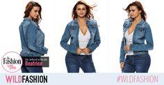 Reimprospateaza sectiunea dedicata denimului din garderoba ta cu o jacheta versatila si cool. Cum ti se pare aceasta? Denim, Fashion, Moda, Fashion Styles, Fasion, Jeans