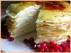Crepe cake- and best crepe recipe