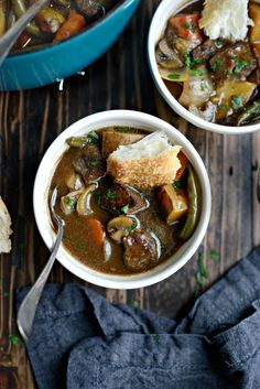 Simply Scratch Oven Braised Beef Stew - Simply Scratch