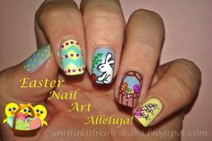 Anita Nails: Easter Nail Art- Wesołego Alleluja!