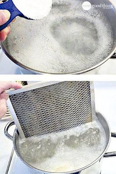 GREASY STOVE FILTER