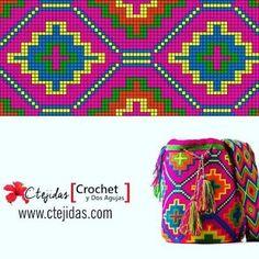 Triforce-iltalaukku pattern by Molla Mills Tapestry Crochet Patterns, Bead Loom Patterns, Beading Patterns, Crochet Stitches, Stitch Patterns, Knitting Patterns, Loom Bands, Mochila Crochet, Crochet Diy