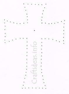 cross template..use for fabric applique template