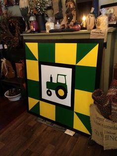 John Deere barn quilt $139.99 4x4