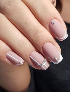 Fresh Nail Arts and Images for Ladies to Show Off Nowadays Chic Nails, Classy Nails, Stylish Nails, Simple Nails, Trendy Nails, Ballerina Acrylic Nails, Cute Acrylic Nails, Classy Nail Designs, Toe Nail Designs
