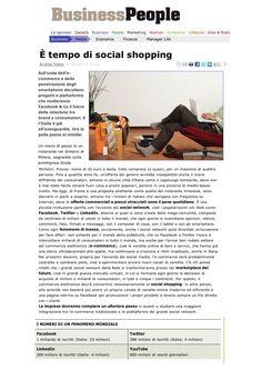 e-tempo-di-social-shopping by Gregorio Fogliani via Slideshare