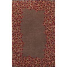 Art of Knot Skyline Hand Tufted Wool Area Rug, 5' x 8', Brown