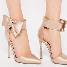 Fashion  Bowknot Stiletto Heel Sandals