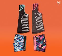We <3 colorful & fun activewear.
