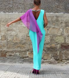 Hey, I found this really awesome Etsy listing at https://www.etsy.com/listing/247972865/mint-backless-dress-maxi-dress-caftan