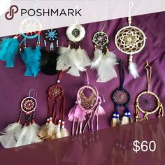 Dream catchers! 8 each or 60 bundle have paid 15-25 for each!! Other