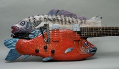 Fish guitar!