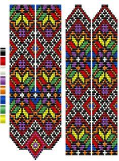 Peyote Stitch Patterns, Seed Bead Patterns, Jewelry Patterns, Beading Patterns, Inkle Weaving, Bead Weaving, Yarn Bracelets, Bead Crochet Rope, Card Patterns