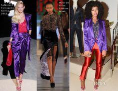 Solange Knowles In Salvatore Ferragamo & Maki Oh – Salvatore Ferragamo Fifth Avenue Store Re-Opening