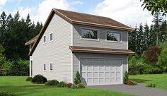 Garage Plan 51449 | Contemporary Plan with 687 Sq. Ft., 2 Car Garage