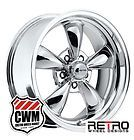 """17x8"""" RWD Retro Wheel Designs Chrome Wheels Rims for Chevy Camaro 67-81 - http://awesomeauctions.net/wheels-rims/17x8-rwd-retro-wheel-designs-chrome-wheels-rims-for-chevy-camaro-67-81/"""