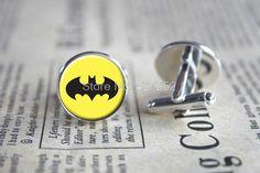 10pairs/lot Batman Cufflinks, Superhero Cufflinks, Geek Cufflinks, Geek Jewelry, Fun Gift, Groomsmen Gift, Boyfriend Gift