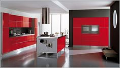 grey and red | Bold Red, Elegant Grey and Whimsical White Interior Designs for You!