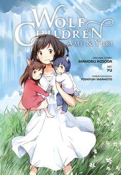 Wolf Children: Ame & Yuki Graphic Novel (Hardcover) ssssssoooo good