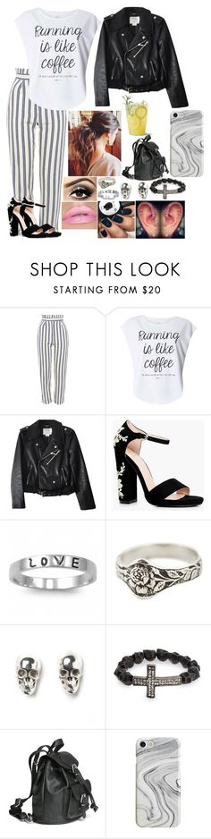 """""""Untitled #3277 - Outfit of the Day - 5/24/17"""" by nicolerunnels ❤ liked on Polyvore featuring Topshop, Dorothy Perkins, Kate Spade, Boohoo, Fantasy Jewelry Box, Talon, LeiVanKash, J.A.K., Bling Jewelry and H&M"""