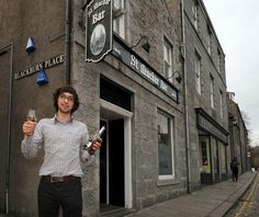 University of Aberdeen student and entrepreneur Blair Bowman set up World Whisky Day. The first international celebration of Scotland's national drink took place this year on March 27.
