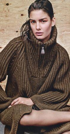 Ophelie Guillermand by Jason Kibbler for Vogue Russia September 2014