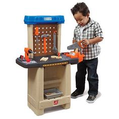 Step2  Handy Helpers Workbench Building Set Step2 https://www.amazon.com/dp/B00D9OMWG4/ref=cm_sw_r_pi_dp_x_6yuJybEWP33MN