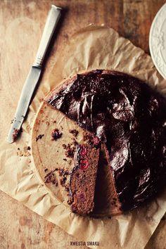 Murzynek  Przepis (cherry chocolate cake)