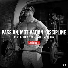Passion, Motivation, Discipline Visit our new website ->… Gym Motivation Quotes, Gym Quote, Fitness Quotes, Fitness Goals, Fitness Tips, Bodybuilding Motivation Quotes, Lifting Motivation, Cardio Fitness, Fitness Wear