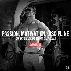 Passion, Motivation, Discipline