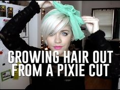 how to style your hair while growing it out 1000 images about hair on pixie cuts 4764