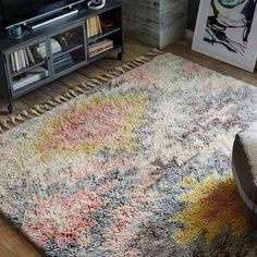 Ashik Wool Rug - Multi | West Elm