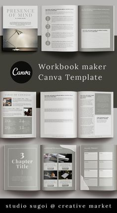 Online Graphic Design, Graphic Design Tools, Table Of Contents Page, Media Kit, Book Layout, Blog Planner, Magazine Template, Marketing Materials, Business Design