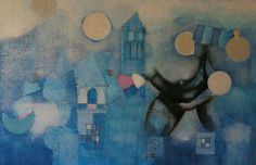 Hearst, The Coming (fresco on board,2010) in collaboration whith Nina Todorovic) bye Claudio Bandini
