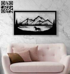Diy Wall Art, 3d Wall, Mirror Wall Clock, Floor Art, Vector File, Laser Cutting, Murals, Free Design, Bed Pillows