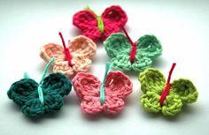 Crochet Butterflies by AnnieDesign, via Flickr