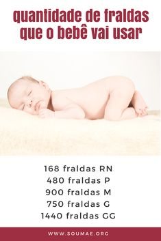 quantidade-de-fraldas Baby List, My Pregnancy, Baby Coming, First Time Moms, Baby Room Decor, My Little Girl, Baby Essentials, Baby Care, New Moms