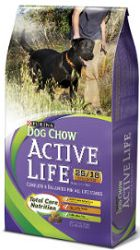 FREE Purina Active Life Dog Chow Sample http://freesamples.us/free-purina-active-life-dog-chow-sample/