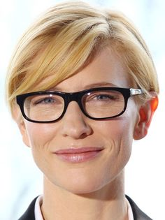 [ Higher Learning ]     Cate Blanchett was a forerunner of the nerd-girl glasses craze, wearing large dark framed eyewear that make the actress look positively bookish.