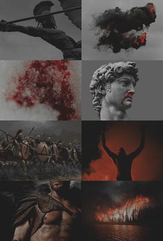 """iAres 2/2: """"you bleed so much everything tastes like blood to you, the world…"""