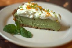 Avocado Mambo Pie Recipe