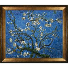 I pinned this Branches of an Almond Tree by Van Gogh Framed Reproduction from the Wonder Wall event at Joss and Main!
