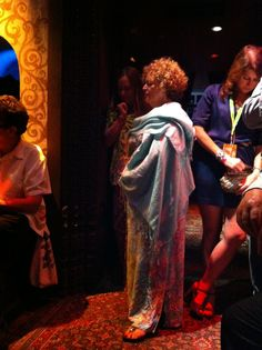 Some of my friends being Goddesses in the Foundation Room at House of Blues, Piano Night!