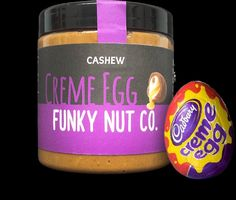 This is NOT a hoax. Creme egg nut butter does exist.
