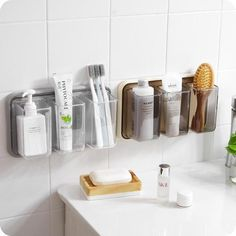 Instantly expand your storage without sacrificing valuable floor space with our Storely bathroom organizer. Made from high quality PP. Available in multiple colors. Simple and easy installation required. Free Worldwide Shipping & Money-Back Guarantee Small Bathroom Organization, Diy Bathroom Decor, Bathroom Interior, Organized Bathroom, Storage Ideas For Bathroom, Ikea Bathroom Storage, Small Apartment Organization, Medicine Organization, Organization Ideas
