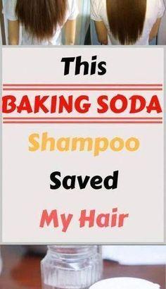 Baking Soda Shampoo: It's going to Make Your Hair Grow Like It truly is Magic! #PureBakingSodaUses #BakingSodaShampooNaturalHair #VinegarAndBakingSodaShampoo #BakingSodaOnBleachedHair Baking Soda Dry Shampoo, Baking Soda For Dandruff, Apple Cider Vinegar Shampoo, Mild Shampoo, Natural Shampoo, Honey Shampoo, Natural Hair, Shampoo Bar, Baking Soda And Honey
