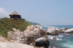 Tayrona National Park, listed as one of the best 20 places to visit in the world. #travel #adventure #culture #welovetravel #beaches #tayronapark #colombia #santamarta