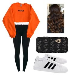 """""""Dance practice"""" by gisellatorres13 on Polyvore featuring adidas and OtterBox"""