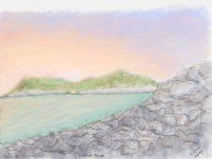 A Somerset Sunset By K Hillman