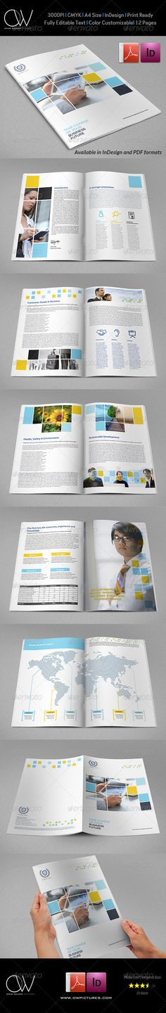 Landscape Annual Report Template Annual reports, Template and - company report template